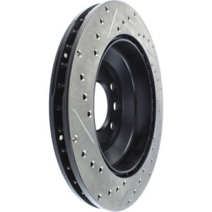 Disc Brake Rotor-Sport Drilled/Slotted Disc Rear/Front-Left Stoptech 127.33078L