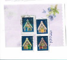 Overstock - 4817-20 – 2013 Stamp - Contemporary Christmas: Gingerbread Houses