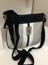 NEW! U.S. POLO ASSN. USPA MONTY BLACK CROSSBODY MESSENGER SLING BAG PURSE $49