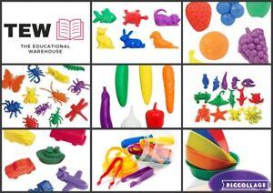 Counters + Jumbo Kids Tweezer Teacher Resource Fine Motor Skills Special Needs
