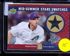 2002 Upper Deck Mid-Summer All Star Game Swatches Randy Johnson GU JERSEY