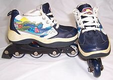 Street Flyers Superman Convertible Roller Skates to Tennis Shoes,Youth Size 13 D