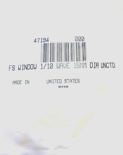 15mm Dia., 2mm Thick, Uncoated λ/10 Fused Silica Window Edmund Optics  47194