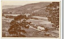 Perthshire; Glen Lochay PPC, By Valentinesc 1940's, Note Haystacks & Cottages