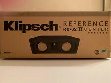 Klipsch RC-62II Reference Series Center Channel speaker, SEALED box