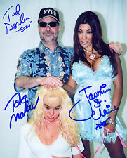 JASMIN ST CLAIRE VELVET SKY TOD GORDON ECW SIGNED AUTOGRAPH 8X10 PHOTO W/ PROOF