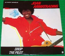 "Joan Armatrading - Drop The Pilot UK 12"" Single Personally Autographed with COA"