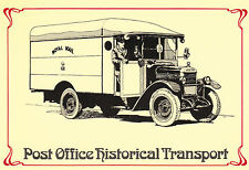 (18516) Postcard Morris Commercial Mail Van from 1930 (modern card) SEPR27