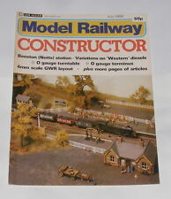 MODEL RAILWAY CONSTRUCTOR JULY 1980 - BEESTON (NOTTS) STATION/4MM SCALE GWR