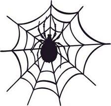 1 Aufkleber Spinnennetz m. Spinne, 15 cm, Auto, Tuning