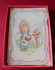 Betsey Clark Cards Vintage Hallmark 8 Cards & Envelopes Valentine's Collectible