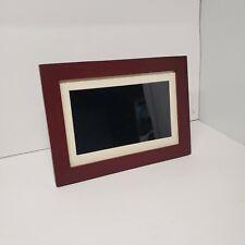 "Insignia - 10"" Widescreen LCD Digital Photo Frame - Espresso"