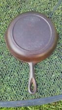 Vintage No. 5 Cast Iron Skillet Made In USA Rusty