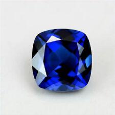 UNHEATED ROYAL BLUE SAPPHIRE 8x8MM 3.28CT TOP CUSHION CUT AAAA+ LOOSE GEMSTONE