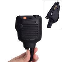Shoulder Speaker Mic Multipin Lapel Microphone For KENWOOD Radios Walkie Talkie