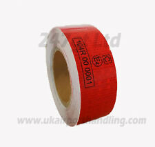 EC 104 -R RED REFLECTIVE TAPE 50mm x 10M METERS