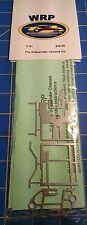 L WRP C-01 PRO Sidewiner Chassis KIT Drag Slot Car 1/24 Mid-America