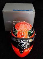 Michael Schumacher Mercedes F1 helmet signed 1/2 scale 2012 season Formula 1