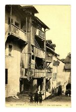 CPA 74 Haute-Savoie Annecy Faubourg Perrière Une vieille maison animé