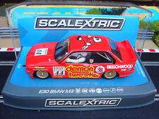 NUOVO in scatola Scalextric BMW E30 M3 RACING 1988 C3739 con luci e DPR
