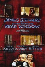 Rear Window 1997 Re- Issue Rare Movie Poster Original (Red) 27x40