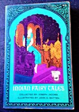 Vintage INDIAN FAIRY TALES : JOSEPH JACOBS, 29 TRADITIONAL TALES,  s/c India