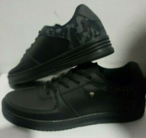 Latest Cash Money Footwear Trainers Black Low Tops with Camouflage Style Gifts