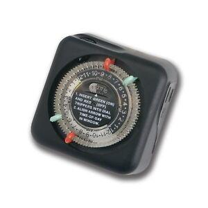 Kichler Indoor Outdoor Mechanical Electric Light Timer 15557BK