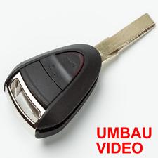 POGE297 Ersatz-Gehäuse für 2-Tasten Porsche 987,997 Fernbedienung+Video