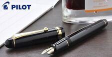 [Soft Medium nib] Pilot NAMIKI Custom74 Fountain Pen Black 14K #5 SM New Japan