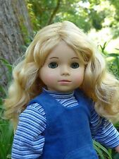 "Ooak Gray Eyes Custom Little Sister Precious Day 18"" Gotz Doll 305/16"