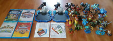 big lot skylanders Wii U Nintendo / 4 games + 2 platforms +full of Skylanders