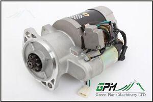 TDA | MOTOR Starter for JCB JS 110/130/140/145/150/160/180 - 714/24400 714/35900