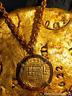 SPAIN 4 ESCUDOS JEWELRY ATOCHA ERA 1556-98 PENDANT PIRATE GOLD COINS