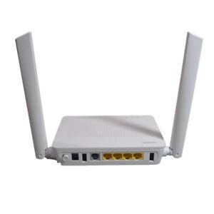 Huawei ONU HS8546V5 GPON ONT with 4GE LAN 2.4&5G Dual-Band WiFi,5DBI big antenna