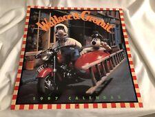 Vintage Wallace and Gromit 1997 Calendar Aardman Studios