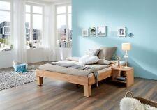Französisches Bett Doppelbett 140x200 Bio Buche geölt Bettrahmen Futon 60.87-14