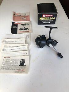 Vintage Garcia Mitchell 204 spinning reel New In Box