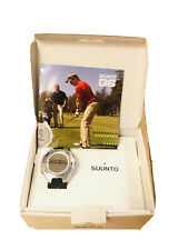 Suunto G6 Golf Swing Monitor Analyzer Digital Watch Black/Silver, BRAND NEW!