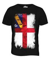 Herm Bandiera Grunge da Uomo T-Shirt Maglietta Maglia Jersey Abbigliamento