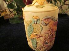"""Harmony Kingdom: Jardinia, """"Tail Feathers"""" Birds Galore Mint W/Box Great Price"""