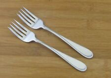"2 Two Oneida Flight Reliance Salad Dessert Forks 6 3/4"" Glossy Stainless"
