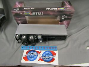 Revell 1/24 BOX TRAILER die-cast w plastic parts 1995 issue