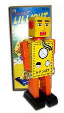 ROBOT LILLIPUT à clef jouet en tole old toys tin toys jouet ancien