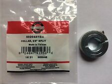 New Genuine OEM Simplicity Snapper Ferris 5020441 5/8 Split Collar w/ set screw