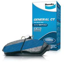 Bendix General Disc Brake Pad PADS DB1802GCT SUIT TOYOTA COROLLA 1.8L VVTL