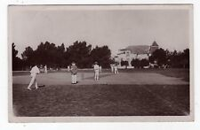 PORTUGAL, CARCAVELLOS, CRICKET PITCH, CRICKET MATCH, 1911, RP