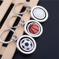New Football Golf ball Baseball Basketball Keychain Key Ring Sport Souvenir - S