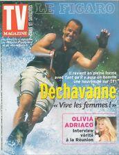 ▬► TV Magazine - N°17743 Septembre 2001 - Christophe DECHAVANNE_ADRIACO_VEILLON