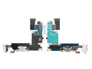 iPhone 6 Plus Ladebuchse weiß Dock Connector Flex Kopfhörer Anschluß Mikro